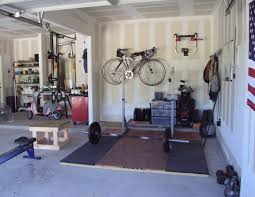 One Car Garage Ideas by My New Crossfit Garage Gym Garage Gym Gym And Squat Stands