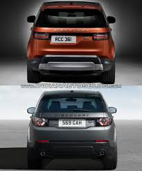 land rover discovery sport 2017 2017 land rover discovery vs land rover discovery sport rear