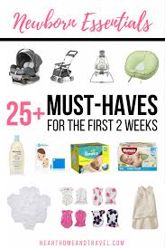 newborn essentials newborn essentials 25 must haves for the two weeks