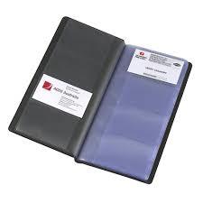 business card notebook marbig standard business card holder black officeworks