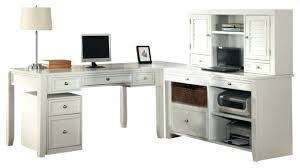 Computer Desk With Hutch Cherry Bush L Shaped Desk Bush L Shaped Computer Desk With Hutch In