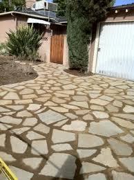 Concrete Backyard Patio by Best 20 Recycled Concrete Ideas On Pinterest Broken Concrete