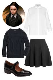 Halloween Costume Wednesday Addams 8 Minute Halloween Costume Ideas Elle Editors Swear