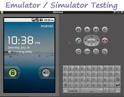 emulators for android differences between android emulator and simulator difference