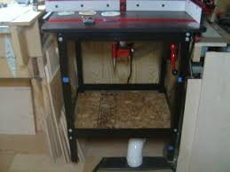 Router Cabinet by Jessem Router Table Base Cabinet Addition Canadian Woodworking