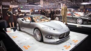 koenigsegg spyker spyker c8 preliator spyder makes north american debut