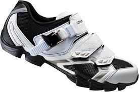 womens bike shoes shimano wm63 spd womens mtb shoes white black buy online