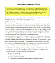 14 sales strategy templates u2013 free sample example format