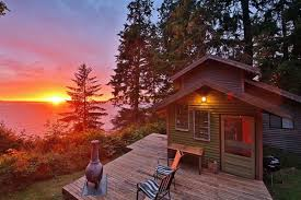 Whidbey Tiny House by Tiny Whidbey Cabin Comes With Treehouse U0026 Sunset Views Curbed