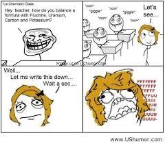 Le Derp Meme - le chemistry class rage comics us humor image 805641 by