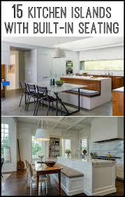 15 fascinating oval kitchen island kitchen island with built in seating inspiration dining area