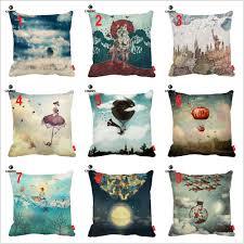online get cheap vintage home decor sea pillowcases aliexpress
