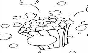 popcorn kernel coloring sheet popcorn kernel coloring pages