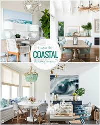 Remodelaholic Decorating A Coastal Dining Room Inspiration And Tips - Coastal dining room