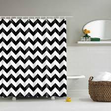 Grey And White Striped Shower Curtain Online Get Cheap Striped Shower Curtain Aliexpress Com Alibaba