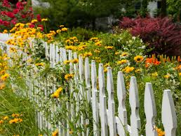garden charming image of garden decoration using white wood