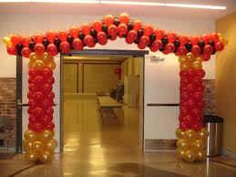 Columns For Party Decorations What U0027s A Party Without A Pagoda Balloons By The Bunch