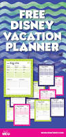 trip planner template best 25 disney planning binder ideas on pinterest disney free printable disney daily vacation planner