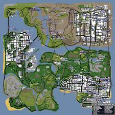 Secret Map Image Gta San Andreas Map Secrets Png Gta Myths Wiki Fandom