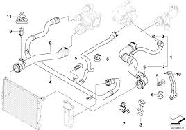 bmw e46 coolant type bmw genuine expansion tank radiator coolant water pipe hose e46