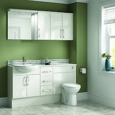wickes seville bathroom worktop white 2000mm wickes co uk