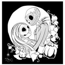 nightmare before coloring pages clipart the nightmare