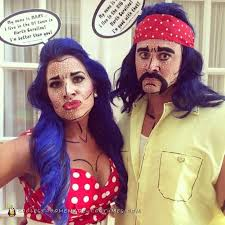 Pop Art Halloween Costume 650 Couples Halloween Costumes Images Diy