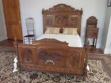 antique furniture bedroom sets antique beds bedroom sets 1900 1950 ebay
