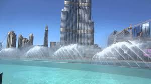 Burj Khalifa Dan Fellner Burj Khalifa Fountain Show Youtube