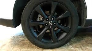 lexus wheels on mustang matte black wheels on rx350 youtube