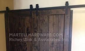 Overhead Barn Doors Agave Ironworks Barn Door Flat Track Hardware Kits Rolling Door