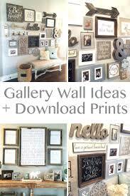 wall ideas end of the hallway decor home office wall decor ideas