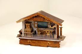 vintage handmade folk art rustic wooden diorama primitive