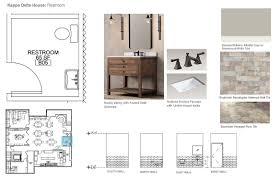Powder Room Floor Plans by Kappa Delta San Jose State University Sorority Housing Sjsu
