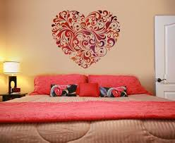 Best Beautiful Wall Decoration In The Bedroom Images On - Decorative wall painting ideas for bedroom