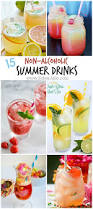 cocktail recipes 15 non alcoholic drink recipes for summer sober julie