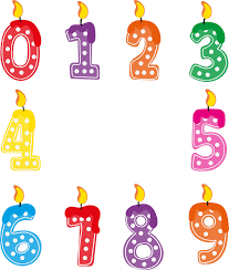 number birthday candles birthday candles png transparent free images png only