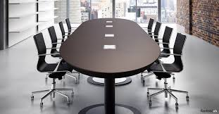 Large Oval Boardroom Table Meeting Tables Multipli Ceo Long Leather Table Fantoni Uk