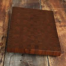 large walnut end grain cutting board butcher block manly cutting