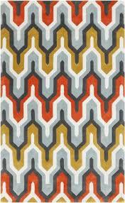 Red And Orange Rug Designer Surya Rugs For The Modern Home Burke Decor