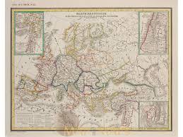 Old Europe Map by Europe Crusades Map Johann Heck 1842 Mapandmaps