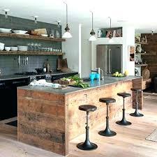 cuisine style usine cuisine style industriel table industrielle plan de travail en