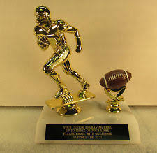 Armchair Quarterback Trophy Fantasy Football Trophy Ebay