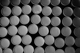 zylinderoberfl che stapel des runden papierrohrs stockfoto bild 80243229