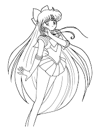 sailormoon coloring pages coloringpages1001