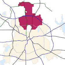 Plano Zip Code Map by North Dallas Wikipedia
