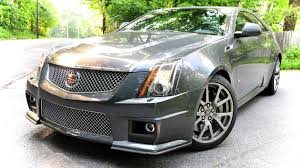 cadillac cts v coupe first drive