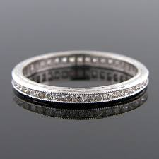 wedding band manufacturers 540 101 antique reproduction all diamond platinum wedding band