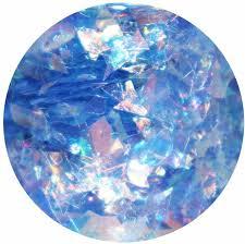 shredded mylar the glitter pot chunky glitter blue mylar