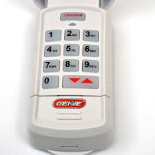 genie keychain garage door opener buy gk bx genie intellicode garage door opener keyless entry